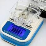 ที่ชาร์จแบตเตอรี่ สำหรับมือถือ แบบหนีบ จอLCD แสดงระดับแบตเตอรี่ : LCD Universal Charger