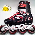 รองเท้าสเก็ต rollerblade รุ่น KPR สีแดง-ดำ ไซส์ S (29-32)