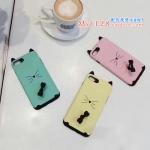 เคส iPhone 7 Plus (5.5 นิ้ว) พลาสติกลายแมวน้อยมีหู 3 มิติ น่ารักมากๆ ราคาถูก