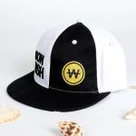 หมวก RUNNING MAN - DON PUSH (สีขาว-ดำ)