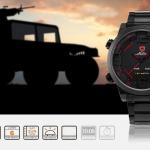 นาฬิกาข้อมือชายแฟชั่น Shank Sport watch SH105