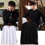 เสื้อแขนยาว (Sweater) สกรีนแขน แบบ Jongsuk ในซีรี่ย์ W