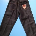 LES035 LES ENPhANTS - Disney Baby เสื้อผ้าเด็กหญิง กางเกงสาวน้อยสีดำ ผ้ามันเลื่อม ๆ เท่ห์มาก ๆ Size 1Y/3Y ราคาป้าย 690 บาท
