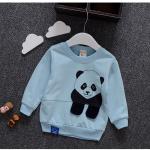 เสื้อ สีฟ้า แพ็ค 4ชุด ไซส์ 6-8-10-12