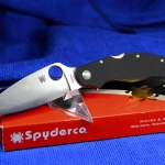Spyderco Caly 3.5 Pin Folding Knife C144GP
