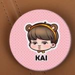 เข็มกลัด EXO KAI พร้อมส่ง