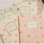 Vintage Rose Notebook