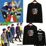 เสื้อฮู้ดซิปหน้า (Hoodie) SHINee - FIVE