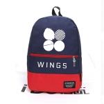 กระเป๋าเป้ สะพายหลัง กระเป๋านักเรียน BTS WINGS