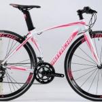 """จักรยานไฮบริด Motachie 2017 """"Lovero"""" 18 สปีด Shimano Sora ตะเกียบคาร์บอน"""