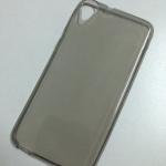 เคสนิ่มใสสีเทา HTC Desire 820s