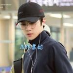 หมวกแฟชั่นเกาหลี หมวกเบสบอล EXO SEHUN สีดำ