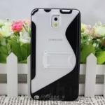 เคสซัมซุงโน๊ต3 Case Samsung Galaxy note 3 เคสพลาสติกใส มีขาตั้ง แนวๆ เคสมือถือราคาถูกขายปลีกขายส่ง