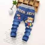 กางเกงยีนส์เด็กลายน้องหมี [size 2y-3y-4y-5y]