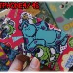 case iphone 4/4s เคสไอโฟน4/4s monster inc monster university เคสซิลิโคนผิวประกายเพชร