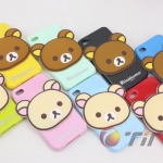 case iphone 5 เคสไอโฟน5 Rilakkuma ซิลิโคน TPU 3D น่ารักสุดๆ