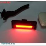 ไฟท้ายคาร์บอน DragonEYE USB recharg carbon light 100 Lumens