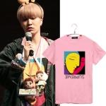 เสื้อยืด (T-Shirt) ลายภาพวาด แบบ Youngjae