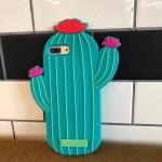 เคส iPhone 7 Plus (5.5 นิ้ว) ซิลิโคน soft case กระบองเพชร 3 มิติ น่ารักมากๆ ราคาถูก