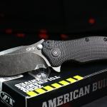 Zero Tolerance ZT0300BW Blackwash Blade Plain