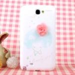 Case Samsung Galaxy Note 2 happymori เคสประกบลายการ์ตูนน่ารักๆ เคสมือถือราคาถูกขายปลีกขายส่ง