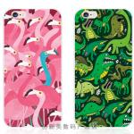 Case iPhone 6s Plus / 6 Plus (5.5 นิ้ว) พลาสติก TPU นกฟามิงโกและไดโนเสาร์ น่ารักๆ ราคาถูก