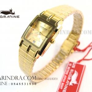 นาฬิกา U.S. submarine รุ่น S1001L สีทองล้วน