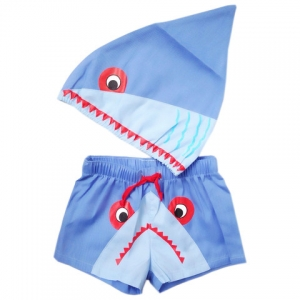 Shark Swim Suit Size 2