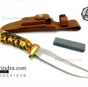มีดใบตาย SCHRADE Uncle Henry 153UH Golden Spike Hunting Knife