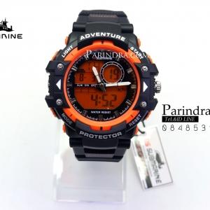 นาฬิกา US submarine TP3168M ดำ-ส้ม