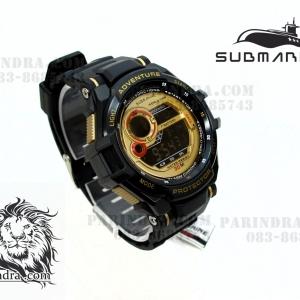 นาฬิกา US submarine รุ่น TP1299M ระบบดิจิตอล สีดำ-ทอง