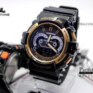 นาฬิกา US submarine TP3160M ดำ-ทอง