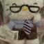 ตุ๊กตาจอร์จเฮลโหลคิตตี้ Hello Kitty's daddy family stuffed (George) thumbnail 3
