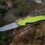 มีดพับ ONTARIO Model-1 ด้าม Fluorescent Green คมกริบ ขนาด 8 นิ้ว (OEM) thumbnail 4