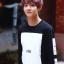 เสื้อแฟชั่น Hood By Air HBA BTS EXO สีดำ thumbnail 1