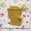 กระเป๋าใส่โทรศัพท์มือถือไหมพรม หมีคุมะ thumbnail 2