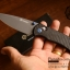 มีดพับ Ganzo รุ่น G7533 CF สีดำ ใบมีดดำ ด้ามลายคาร์บอนไฟเบอร์ ของแท้ 100% thumbnail 6