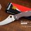 มีดพับ Spyderco รุ่น ZDP-189 ด้าม G10 สีน้ำตาล คมกริบ ขนาด 8 นิ้ว (OEM) A++ thumbnail 6