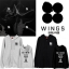 เสื้อฮู้ดซิปหน้า (Hoodie) BTS WINGS thumbnail 1