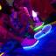รองเท้าผ้าใบมีไฟ LED สีขาว (เปลี่ยนสีได้ 7 สี) thumbnail 9