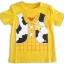 WD4 The Wonderful World Of Disney เสื้อยืดเด็ก แขนสั้น สีเหลือง Toy Story Cotton 100% Size 18M-3Y thumbnail 1