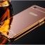 เคส OPPO R7 lite รุ่น Aluminium Hybrid Mirror Back (เคสฝาหลังเงา) thumbnail 3