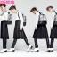 กระเป๋าเป้ม้าลาย J.estina แบบ G-Dragon thumbnail 7