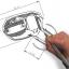 ขาย หูฟัง TTPOD T2E หูฟัง3 Driver (2BA 1Dynamic) สายชุบเงิน รุ่นเบสหนัก - สีม่วงใส thumbnail 2