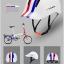 จักรยานพับ CIGNA เฟรมโครโม เกียร์ดุม 3 สปีด ล้อ 16 นิ้ว thumbnail 1