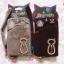 ซองใส่มือถือมีสายคล้องข้อมือ ลายแมวประดับเพชร Animob thumbnail 1