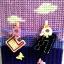 กล่องทิชชูแผ่นเฟรมสีม่วง ตัวหนีบตากผ้า thumbnail 3