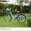 """จักรยานซิตี้ไบค์ FINN """" CITY USA"""" ล้อ 26 นิ้ว 7 สปีด ชิมาโน่เฟรมอลู โช๊คหน้า พร้อมตะกร้า thumbnail 17"""