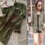 เสื้อคลุมสีเขียวทหาร มีฮู้ด thumbnail 1