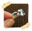 จุกกันฝุ่นมือถือ เห็ดน้อย กุญแจ ใบไม้ สำหรับเสียบกันฝุ่นรูหูฟังและเพื่อความสวยงามสำหรับ iphone samsung htc oppo lg sony nokia asus หรือมือถือที่มีหูฟังขนาด 3.5 มม. / 3.5mm. Anti Dust Earphone Cap Jack Plug thumbnail 4